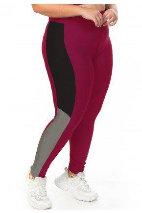 l0016 12 01 legging esportiva linha esportiva fitness plus size feminina preta ilhas rio recorte moderno minimalista